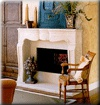Stone Mantel Wood Mantel